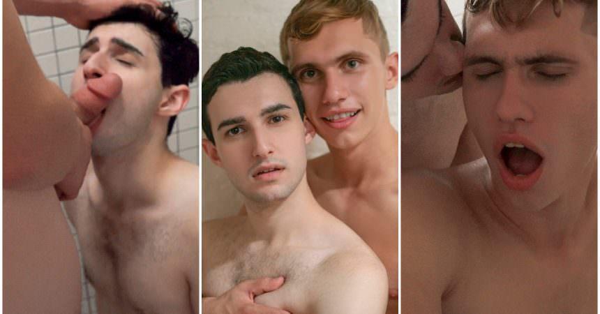 Mormon Boys Bareback Shower