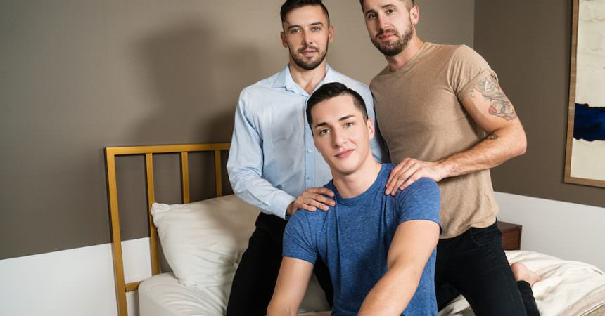 Tristan, Wesley & Shane Bareback