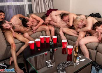 French/American Orgy