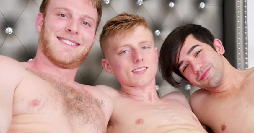 Ben, Jos, & Richie Bareback