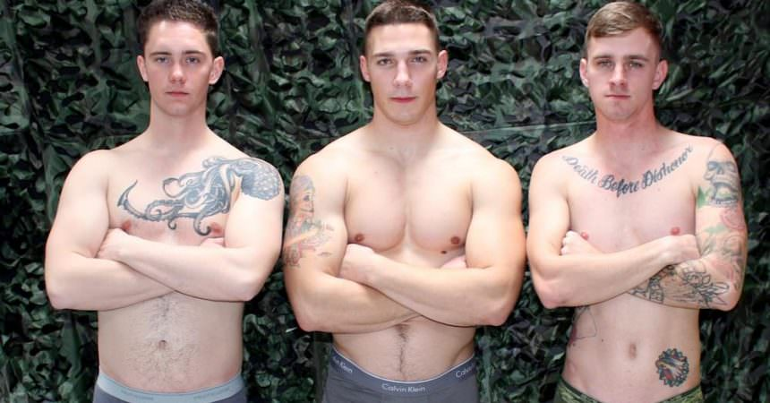 Ryan, Spencer, & Logan Bareback