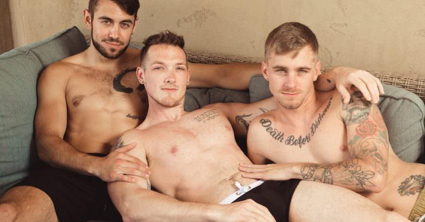 Jackson, Ryan, & Dante Bareback