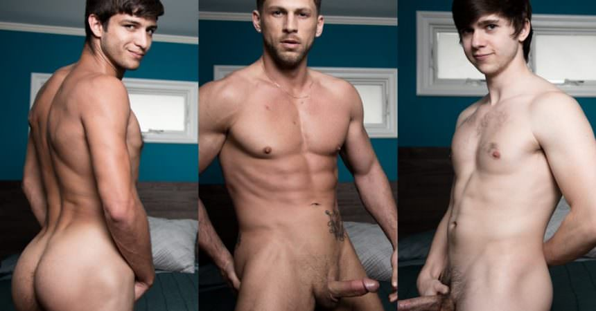 Roman, Elliot, & Will Bareback
