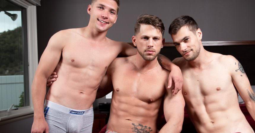 Roman, Elye, & Princeton Bareback