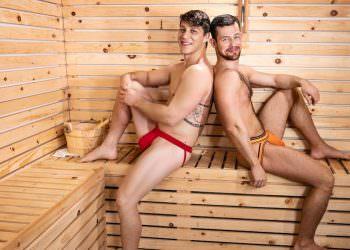 Kurtis & Paul Bareback Sauna