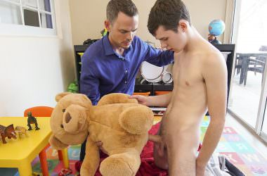 A Boy, A Toy, A Bare Daddy Dick