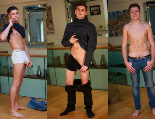 British Straight Boys Strip & Suck