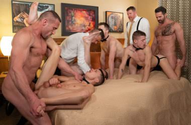 Boy For Sale Bareback Group Orgy