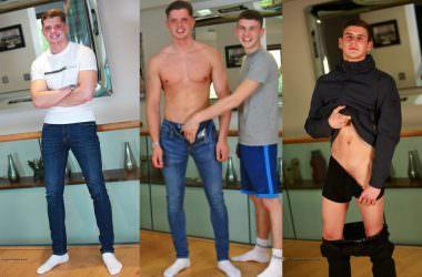 Straight Boy Logan Gets Gay Blowjob