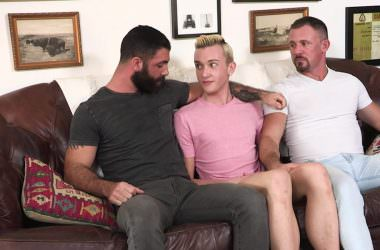 Ryan Gets Two Raw Daddy Dicks