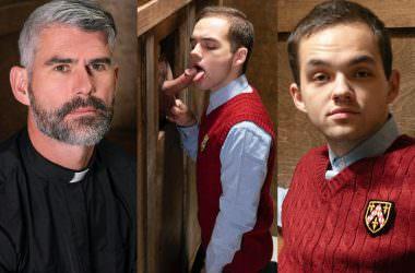 Horny Priest Breeds Catholic Boy