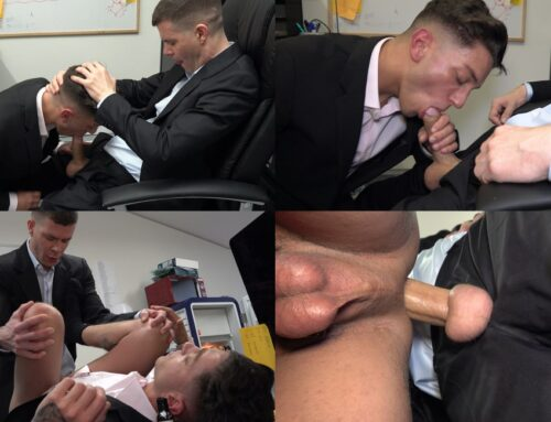 George Gives His Office Boy A Bareback Breeding