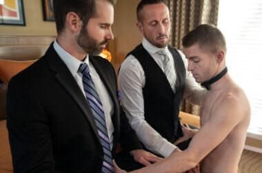 Slave Boy Serves Two Daddies