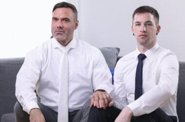 Mormon Boy Takes Raw Daddy Dick