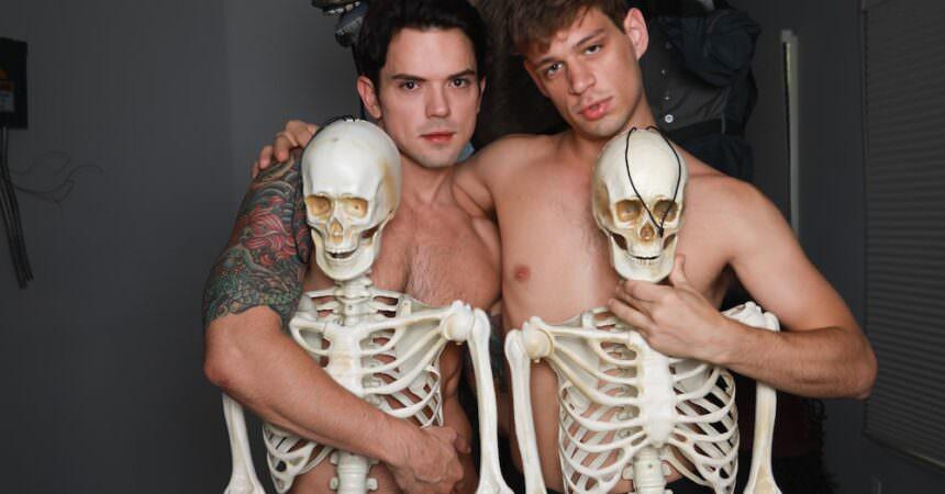 Michael & Dakota's Bareback Halloween