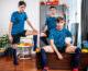 Bareback Soccer Twink Trio