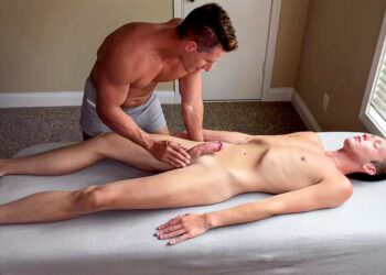 Bareback Massage For Ryan Evans