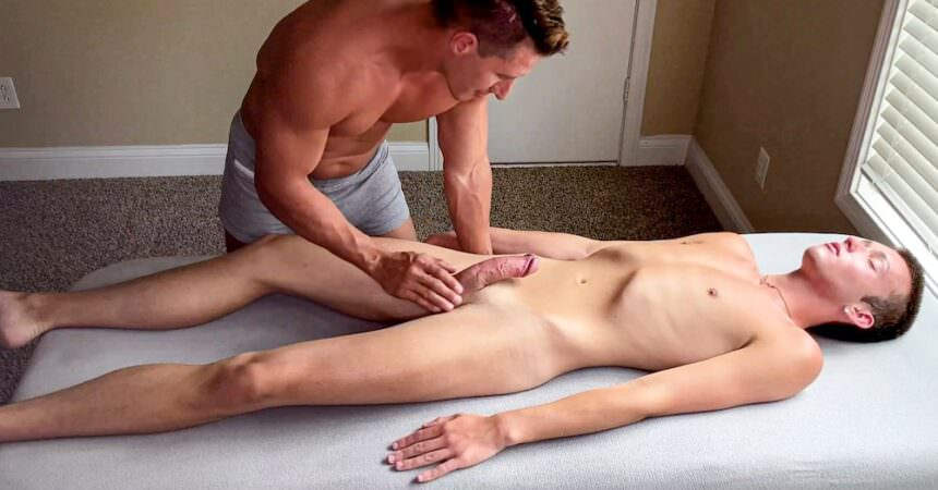 Bareback Massage For Ryan Evans