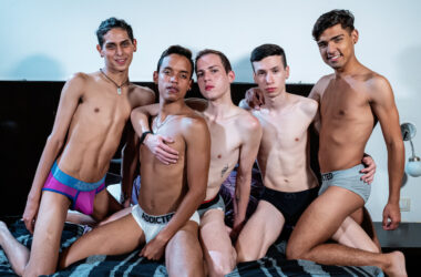 After Party Bareback Twink Orgy