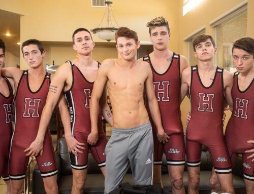 Helix Wrestling Team Bareback Orgy