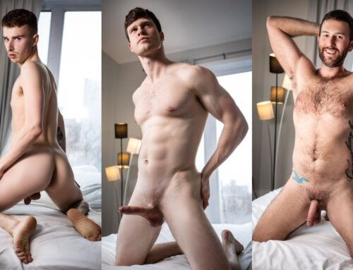 Finn Harding Fucks Ryan Jacobs & Tanner Hall