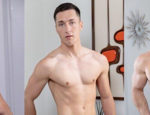 Tristan Hunter, Zario Travezz, & Beau Butler Bareback Threesome