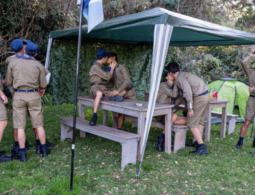10 Scouts Outdoor Bareback Orgy!